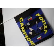 Bandiera piccola forza campioni Cuore Neroazzurro