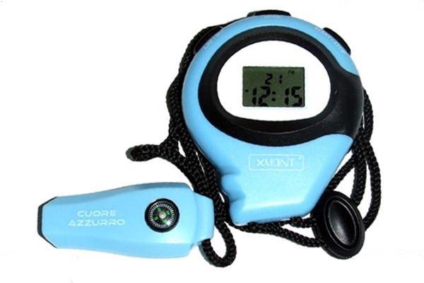 Cronometro cuore Azzurro