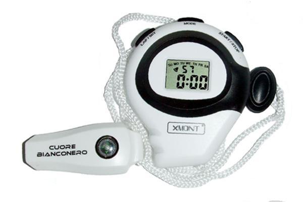 Cronometro cuore Bianconero