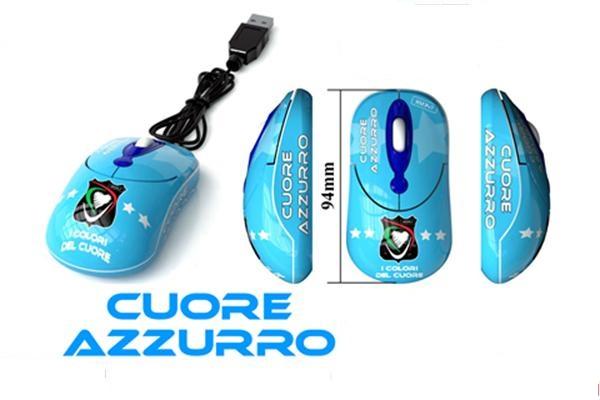 Mouse cuore Azzurro