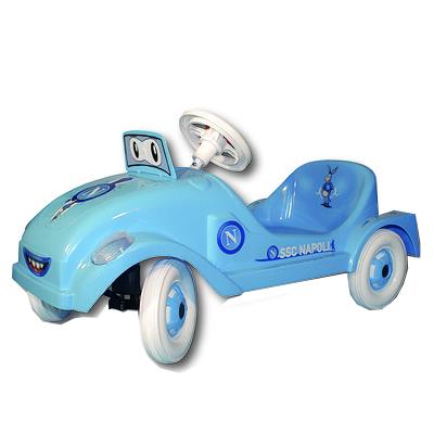 Auto a pedali azzurro Napoli