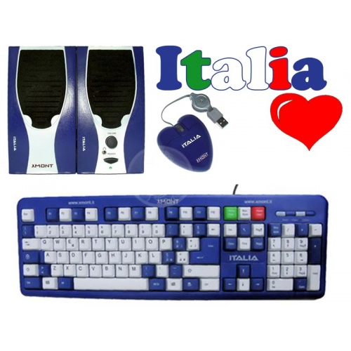 Accessori scrivania cuore Italia